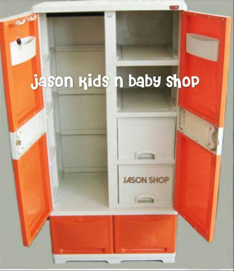 Lemari Rovega jual lemari baju gantungan laci rak deluxe cupboard