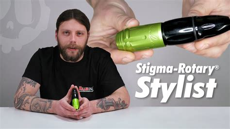 stigma tattoo machine youtube stigma rotary 174 stylist tattoo machine review setup