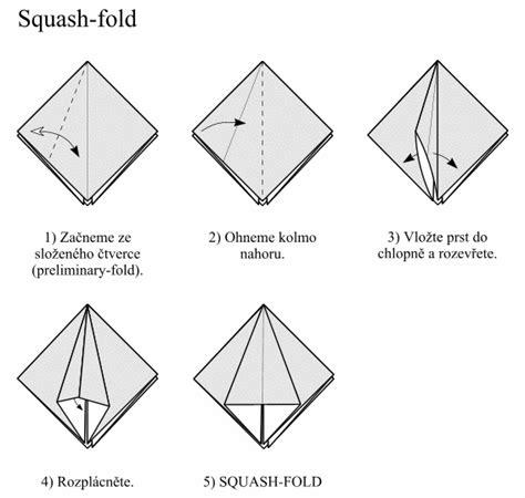Squash Fold Origami - origami squash fold 28 images katakoto origami step7