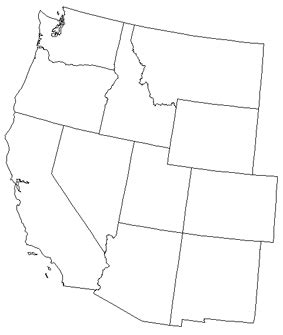 printable map of the western united states 13 best images of eastern united states map worksheet