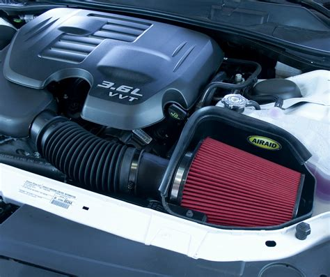 2014 dodge challenger rt cold air intake 351 317 airaid cold air intake system 2011 2014 dodge