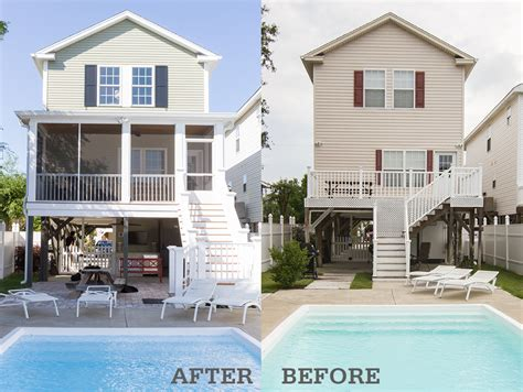 home exteriors before and after jumply co