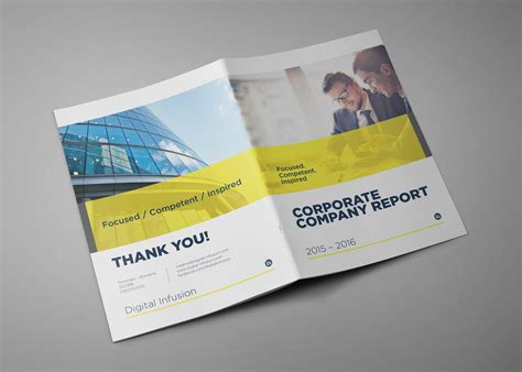 company profile cover design sle modern corporate brochures company profile reports by