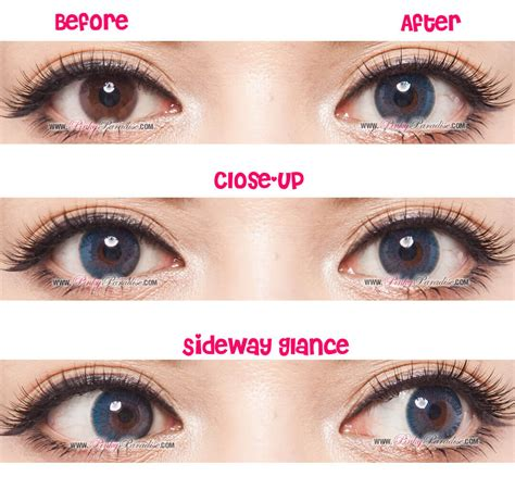 blue colored contacts gbt blue aqua circle lenses colored contacts pinkyparadise