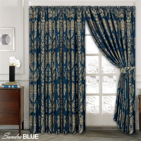 jacquard drapes luxury jacquard curtains fully lined ready made tape top