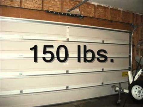 Garage Door Weight by Garage Door Fundamentals Torsion Counterbalance