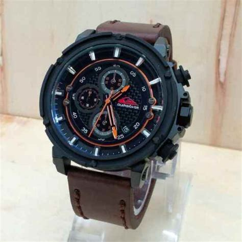 Harga Jam Tangan Montblanc Quartz jam tangan quiksilver chrono tali kulit harga murah