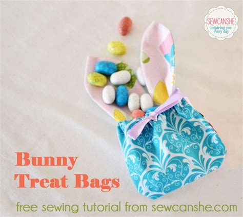 Three More Inspiring Patchwork Projects Sewcanshe Free - bunny treat bags a free sewing tutorial sewcanshe