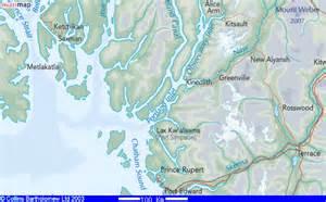 map of canada and alaska border ramsden locations