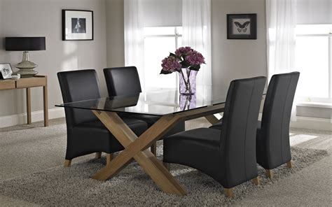 dining room glass table sets glass dining tables buying guide vale furnishers