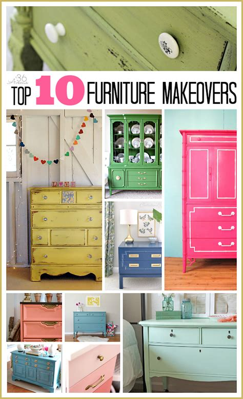 furniture makeovers furniture makeovers top 10 the 36th avenue