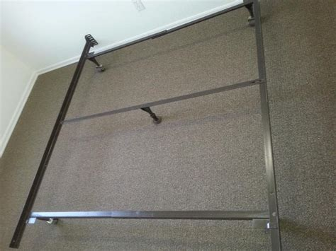 cast iron bed frame queen queen size cast iron bed frame with middle bar included central nanaimo nanaimo