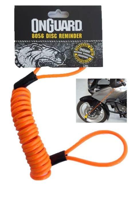 onguard motosiklet disk kilidi hatirlatma kablosu