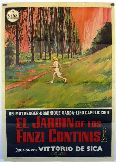 il giardino dei finzi contini recensione quot jardin de los finzi contini el quot poster quot il