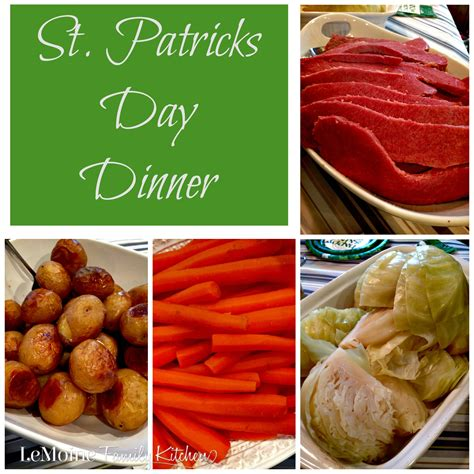 day dinner st patricks day dinner lemoine family kitchen