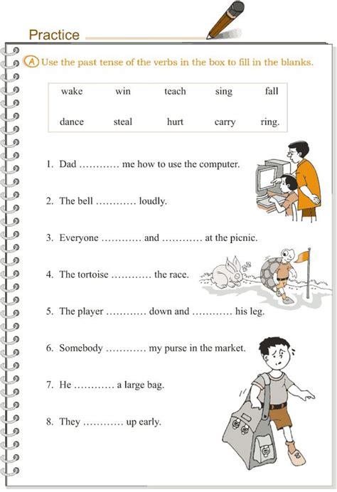 past tense exercises worksheets grammar worksheet simple past tense classroom