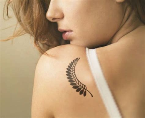 leaves tattoo 59 daring but leaf designs