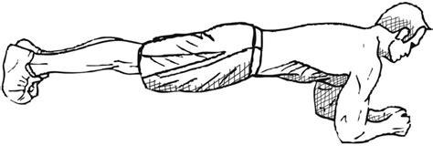plank exercise diagram circuit week 2 the gentlemans journal the