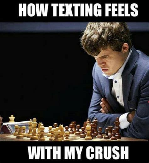 Crush Memes - texting with crush funny pictures quotes memes jokes