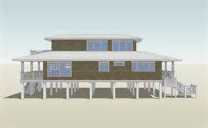 2 Story Beach House Plans Beach Style House Plans 2621 Square Foot Home 2 Story