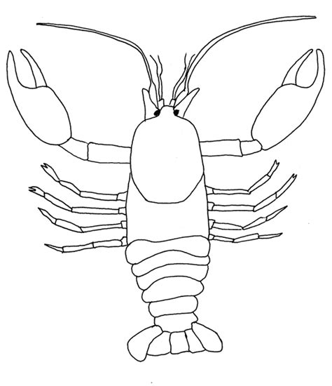 Environmental Coloring Sheets Minnesota Pollution Crayfish Coloring Page