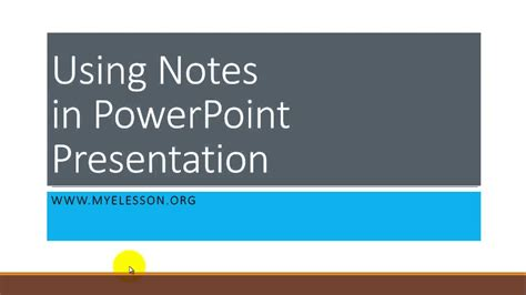 powerpoint tutorial hindi use notes in powerpoint presentation hindi youtube