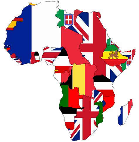 africa map flags file flag map of colonial africa 1913 png wikimedia