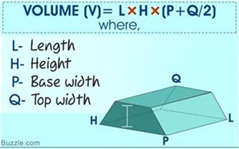 volume of trapezoidal section finding the volume of a trapezoidal prism made easy with