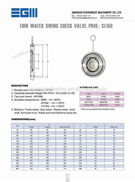 swing check valve dimensions thin wafer swing check valve view thin check valve