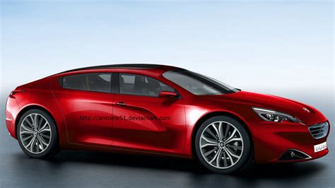 Best Interior Home Design by Peugeot 608 Four Door Coupe Rendering Is A French Panamera