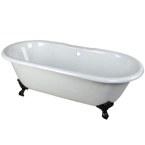 cast iron bathtub prices aqua eden cast iron oil rubbed bronze claw foot double