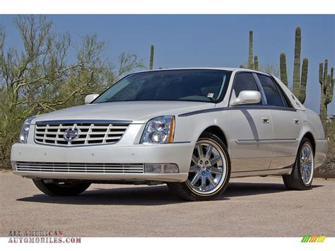 cadillac dts biarritz edition  white diamond tri