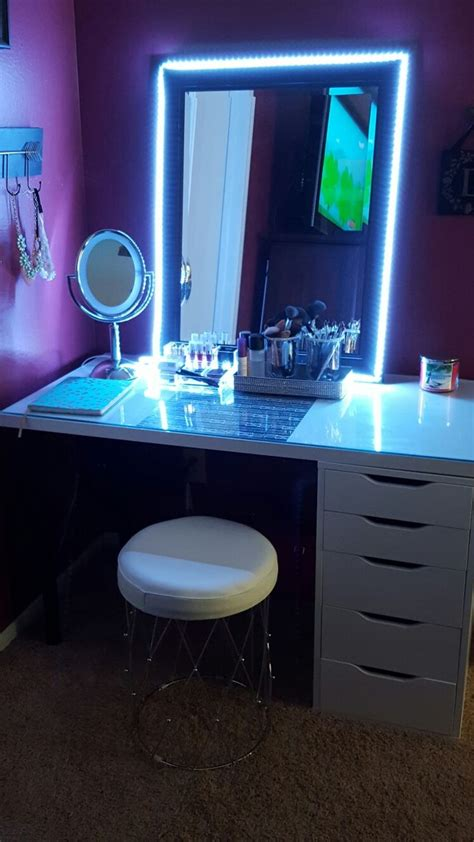 D I Y Led Lights For Vanity Mirror Up
