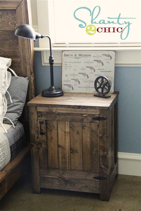 bedside table with charging station absurd stations easy 9 chic and easy diy industrial nightstands shelterness