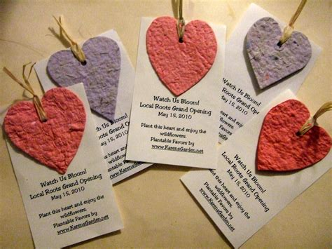 How To Make Seed Paper Favors - seed paper favors craftaholics anonymous