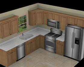 L Shaped Kitchen With Island Layout 10x10 Kitchen On L Shaped Kitchen Kitchen Layout Plans And Cheap Kitchen Cabinets