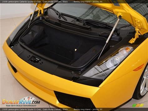 2008 lamborghini gallardo spyder e gear trunk photo 27