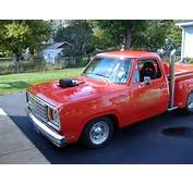 EBay Find A Blown Pro Street Lil Red Express Dodge Truck With Video