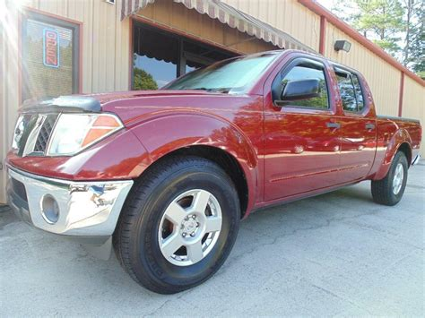 2007 nissan frontier sale 2007 nissan frontier crew cab le for sale 13 used cars