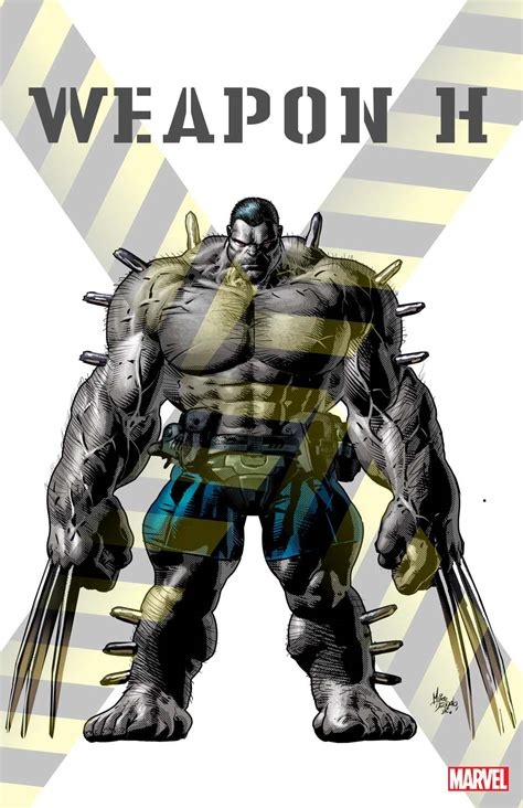marvel heroes with weapons fb cover ocean first look at weapon h marvel s hulk wolverine hybrid ign