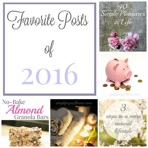 Simple Joys Of Home 5 Your Favorite Posts Of 2016 Simple Joys Of Home