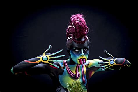 festival de painting austria the and world bodypainting festival