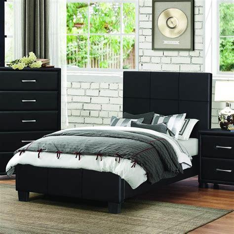 Tempat Tidur set tempat tidur anak minimalis lapis kain black