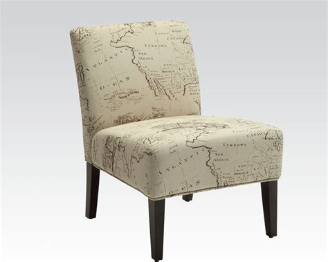 Beige Accent Chair Beige Accent Chair In Contemporary Style By Acme Furniture
