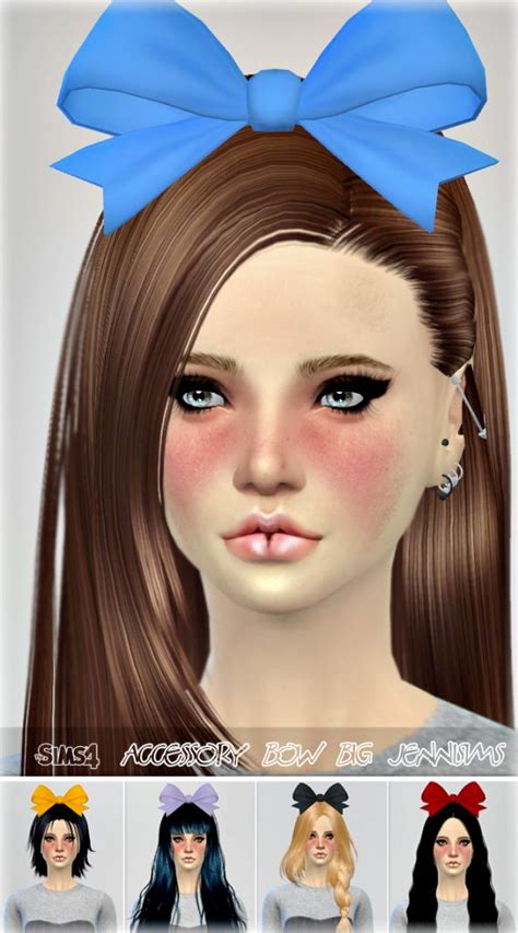 sims 3 custom content haie bow 81 best sims 4 accessories images on pinterest
