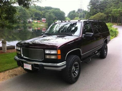 repair voice data communications 1999 gmc suburban 1500 seat position control sell used 1999 gmc k1500 suburban 4x4 one of a kind horse hauler in north brookfield
