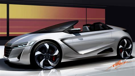 new honda sports car honda previews new convertible sports car with s660 concept