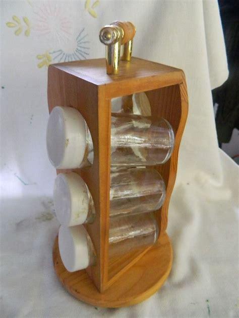 especiero pinterest especiero giratorio en madera 6 frascos madera