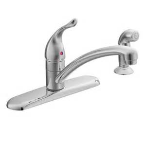Moen Kitchen Faucet Leaks Moen Chateau Chrome Kitchen Faucet Georgekelley Org