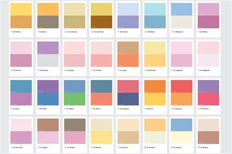 pantone color scheme pantoneのミニマルなカラーパレットで表現したポケモン きよおと kiyoto